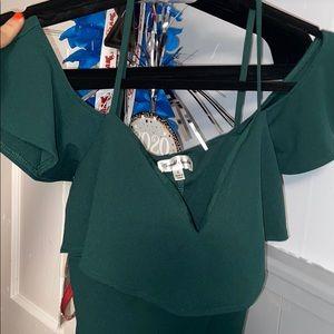 Never worn green dress